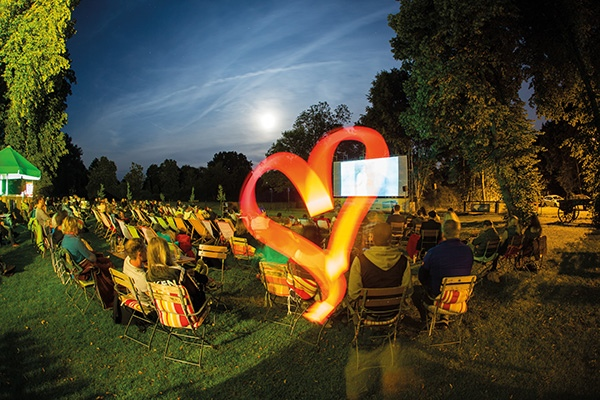 Open Air Sommerkino am Landhaus