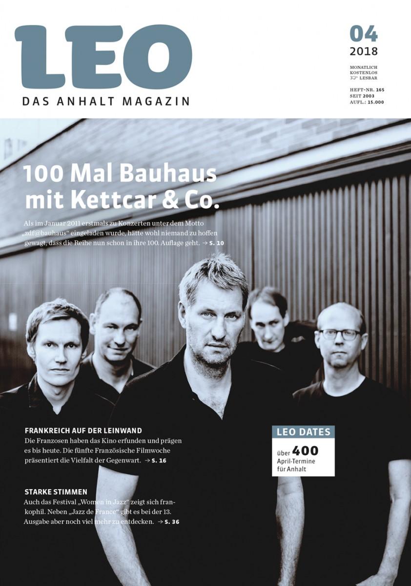 Leo Ausgabe April 2018 Lesen Leo Das Anhalt Magazin